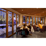 NanaWall® WD65 - Wood Framed Folding/Paired Panel System For Special Applications