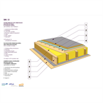 straw bale infill  terrace roof