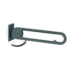 cavere suspendable lift-up support vario, with e-button, l = 600, with base plate, emergency call closed circuit no