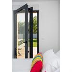 aluminium door-window opening inside 1