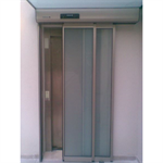 Automatic door - Telescopic SL left without fixed leaf, full framed