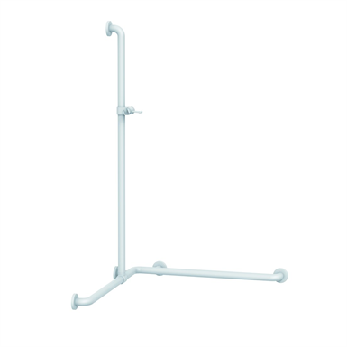 Nylon Care Shower handrail with movable shower handrail, 763x1008x1158