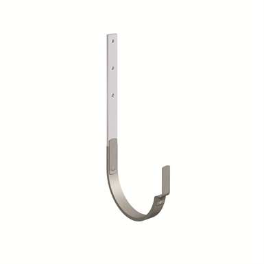 gutter bracket (size 333, long leg, prepatina graphite-grey cladded)