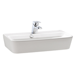 Emma Square Compact washbasin 600x350 mm.