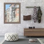 Single Casement Window - IN'ALPHA 70 - OF1 - Block frame installation