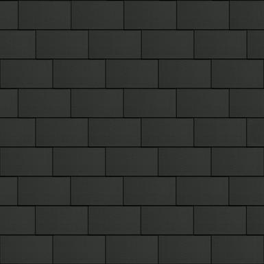 Bardeaux Couverture (333 mm x 600 mm, horizontal, ArtCOLOR Basalte)