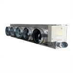 Motorized plenum Daikin standard 5 dampers