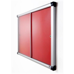 Adboards Metropolitan Acrylic Sliding Fully Fire Rated Blazemaster Showcase
