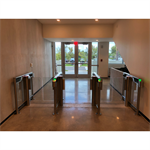 SlimLane 940 Access Control Speed Gate Turnstile - USA/CAN 1 Lane