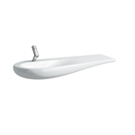 ILBAGNOALESSI ONE Countertop washbasin, shelf right 1200 mm
