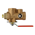 Model 2500 TESTanDRAIN® - Single Handle Ball Valve