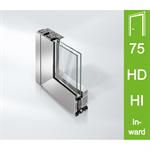 Schüco Door ADS 75 HD.HI, Inward opening