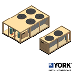 YORK® YCUL Air-cooled Scroll Condensing Unit 15-80 TR (50-280 kW)