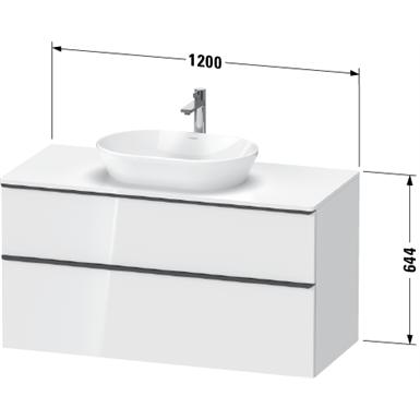 d-neo waschtischunterbau wandhängend de4969