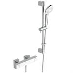 ceratherm c100 shower mixer exposed offset & shower system 600 u