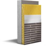 etics: collection / stone wool / acrylic brick slips