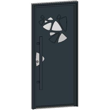 entrance door collection caractère pétale