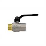Progress M-F ball valve with lever handle