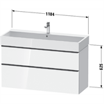 d-neo waschtischunterbau wandhängend de4375