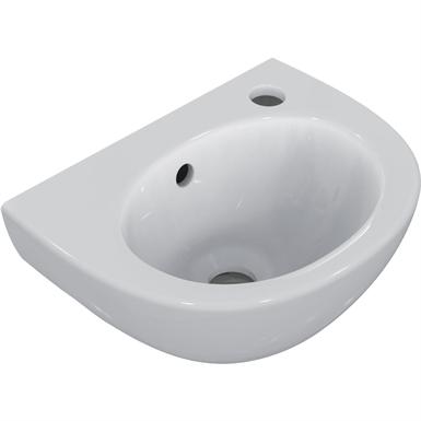 simplicity hand rise basin 35x26 white 1rt ofnch
