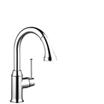 M5316-H210 Single lever kitchen mixer with pull-out spray 73871000