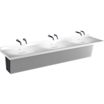 Z5003.03 Sundara™ Drift Handwashing System, Triple Basin