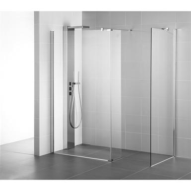 synergy panel 1200 brt/sil wetroom clear