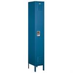61000 Series Standard Metal Lockers - Single Tier - 1 Wide