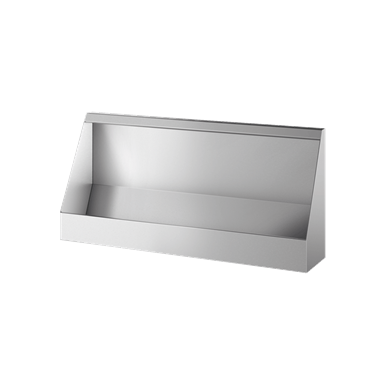 130100  Wall-hung trough urinal L. 1200