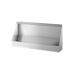 130100 Wall-hung trough urinal L. 1200