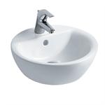 concept sphere 43cm vessel washbasin, 1 taphole