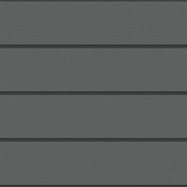 horizontalpaneel fassade (250 mm, prepatina schiefergrau)