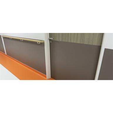 half-height door - straight cut