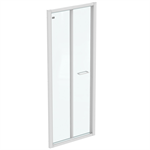 CONNECT 2 B/FOLD 80 UNHAND DOOR IC WHT CLEAR