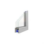 OKNOPLAST, okno KONCEPT EVO, stałe szklenie w ramie