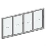 STRUGAL S125RP Window (Four-Leaf)
