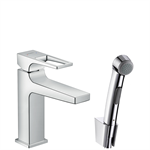 Metropol Single lever basin mixer with loop handle 74522000