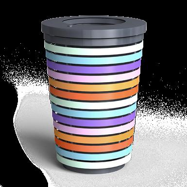 pastel bin