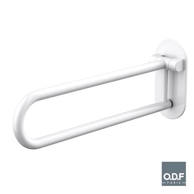 folding grab bar ø32mm - 70cm white serenity