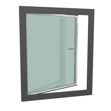 gealan-kubus® single-leaf turn tilt window