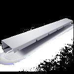 bandeau de faîtage à saillie  c4-1  hauteur 40