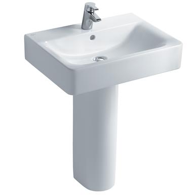 Concept Cube 60cm Washbasin, Pedestal or Furniture 1 Taphole
