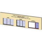 sliding window 3 rails 3 leaves - showcase