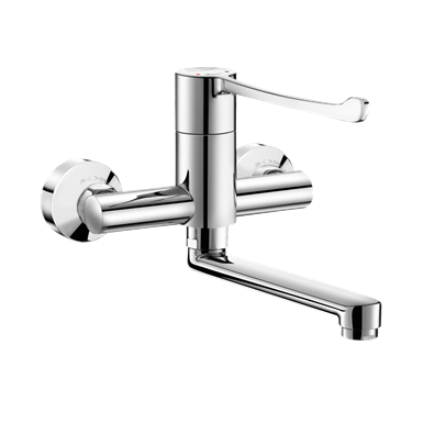2436  Wall-mounted sequential mechanical mixer