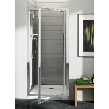 connect porte de douche 100 cm verre granité