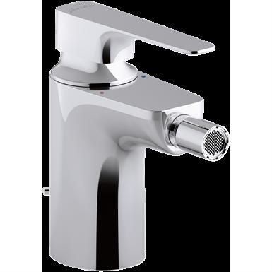 aleo+  single-lever bidet mixer with supply hoses
