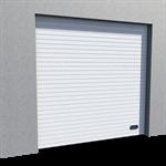 Industrial Grooved Door RAL 9010 Vertical Lift
