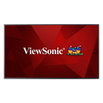 ViewSonic® CDE5510 4K Ultra HD commercial display