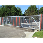 SafeGlide® Aluminum Sliding Single Track Gate System (10' to 30')