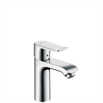 Metris Single lever basin mixer 110 with pop-up waste set 31080007